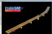فروش فایل آماده پل در SAP2000
