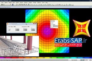 مدلسازی پی و فونداسیون در SAP2000