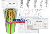 ماتریس جرم و سختی سازه در SAP2000