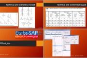 طراحی دکل مهاری در SAP2000