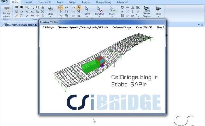 وارد کردن ضریب ضربه در SAP2000 یا CsiBridge