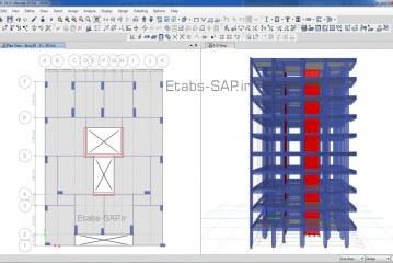 سیستم دوگانه بتنی ، قاب ساختمانی یا دیوار باربر بتنی
