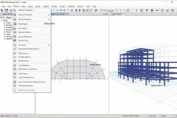 مراحل کلی طراحی سازه بتنی در Etabs