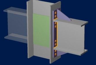 طراحی اتصال End Plate