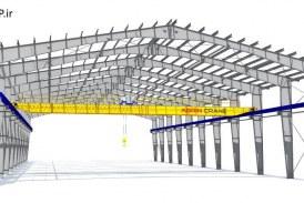 پروژه آماده طراحی سوله (پروژه دانشجویی درس فولاد پیشرفته)