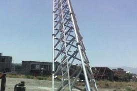 اتمام طراحی دکل خود ایستا ۳۰ متری